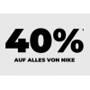 mysportswear – 40% Rabatt auf Nike & Under Armour (bis 22.01.2019)