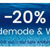 Universal: 20% auf Bademode und Wäsche (auch auf Sale-Artikel)