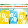 we-are.travel Summer SALE - 50 Special Travel-Deals noch günstiger!