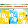we-are.travel Summer SALE - 50 Special Travel-Deals noch günstiger!
