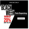 Peek&Cloppenburg Black Friday Warm Up - 20 % Rabatt auf ALLES