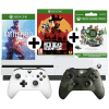 Xbox One S + 2 Controller + 2 Games + 12 Monate Gamepass um 289€