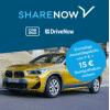 DriveNow Aktion - 4,98 € Anmeldegebühr statt 29 € + 15 Freiminuten